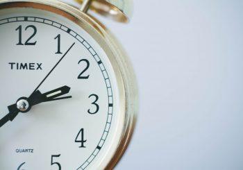 Leer hoe je tijd overhoudt